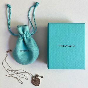 Tiffany&Co Return to Tiffany heart pendant & chain